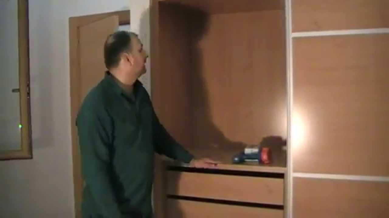 Poner una barra para colgar ropa en el armario youtube - Barra colgar ropa ...