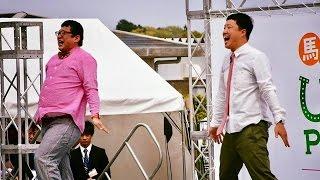 2017.04.16第77回皐月賞(G1)谷桃子&Wエンジン(チャンカワイ&えとう窓...