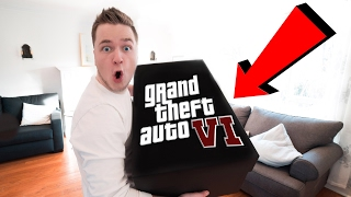 GTA 6 LIMITED EDITION UNBOXING!!!