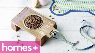 Breadboard Diy Idea #5: Pet Bowl Stand - Homes+