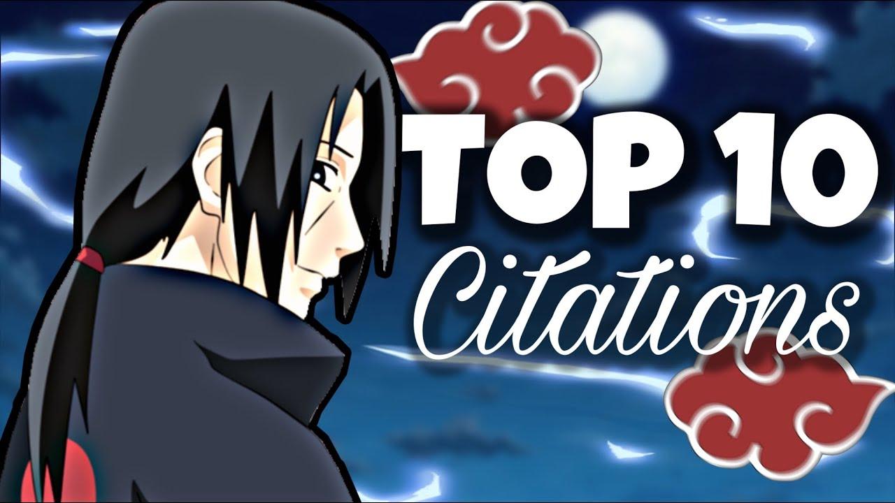 10 Des Meilleurs Citations Dans Naruto Youtube