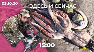 Армяно-азербайджанская война в Карабахе. Протесты в Хабаровске. Экологическая катастрофа на Камчатке