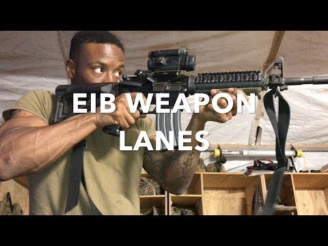 EIB | Weapon Tasks for Expert Infantry Badge