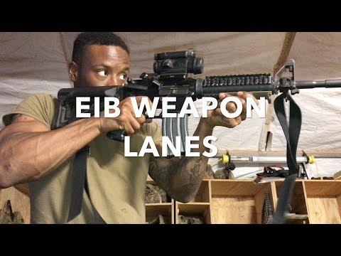 EIB | Weapon Tasks for Expert Infantry Badge