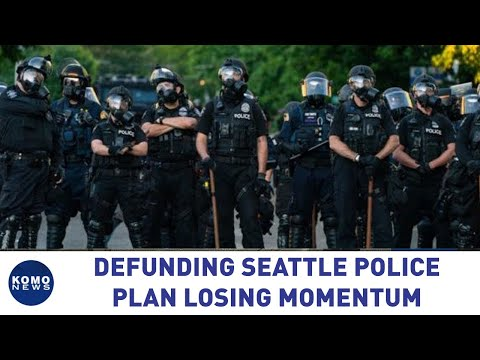 Defunding Seattle Police plan losing momentum