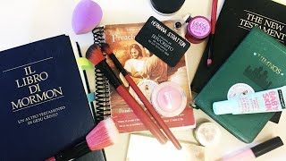 LDS Missionary Morning Routine   Makeup + Hair