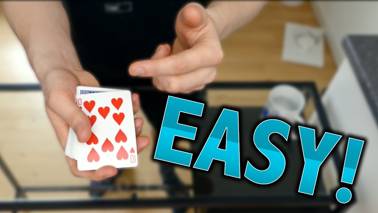 cool easy card trick tutorial youtubecool easy card trick tutorial