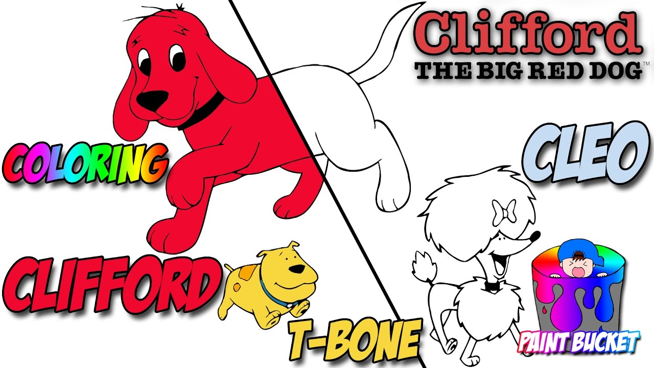 Clifford the Big Red Dog Coloring Pages - PBS Kids Clifford Coloring ...