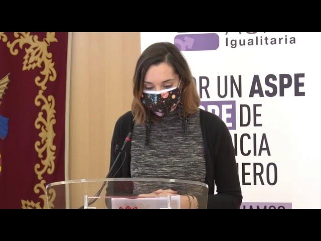 Presentación guía de igualdad #Aspe 2020