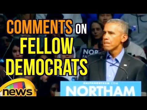 Barack Obama Comments On Fellow Democrats Over Division and fear In Politics