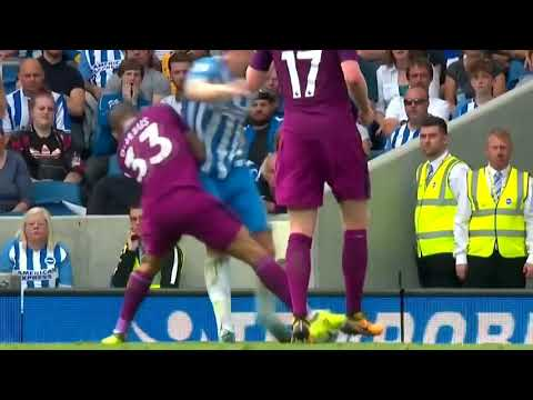 Gabriel Jesus vs Brighton HD   Brighton 0 x 2 Manchester City   Campeonato Inglês 12 08 2017
