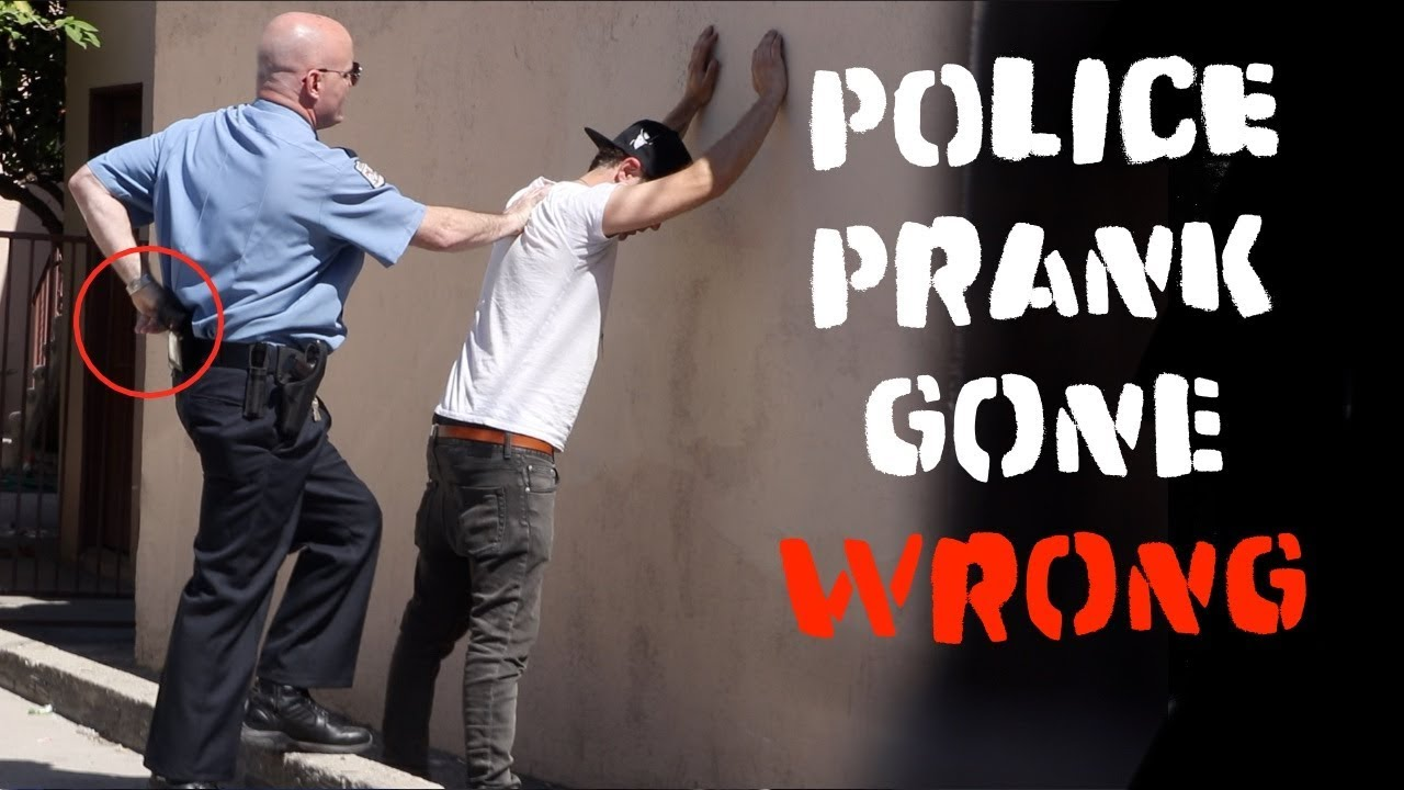 Police Prank gone Wrong ! -Julien Magic