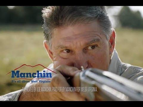 Joe Manchin Can't Stop Shooting Stuff In Ads