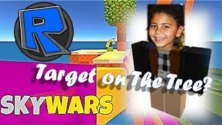 ROBLOX SKYWARS TARGET ON THE TREE - POWER CHALLENGE RUSH