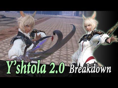 Yshtola Rework Breakdown - Dissidia Final Fantasy NT / Arcade