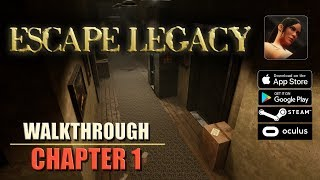 Escape Legacy Chapter 1 Walkthrough Ancient Scrolls Level 1 iOS/Android/PC/Oculus/Cardboard 3D VR HD