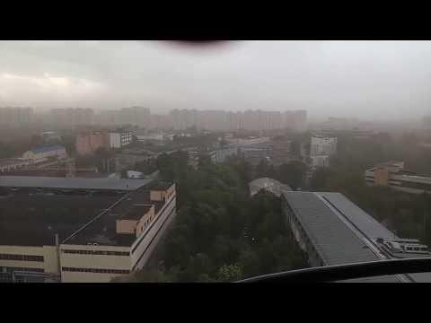 Uragan devastator în Moscova!