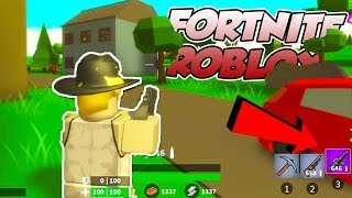 FORTNITE IN ROBLOX COMES OUT TOMORROW!! (CLICK FOR EXACT TIME)
