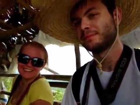 Your Manila tour guide with new friends from Poland visiting Taal Volcano