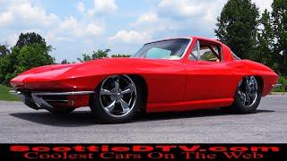 1965 Chevrolet Corvette Pro Street Steve Holcomb Pro Auto Custom Interiors