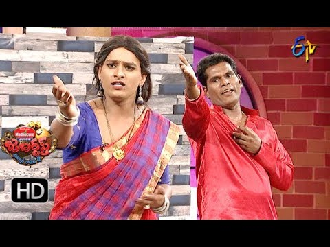 Chammak Chandra Performance |  Jabardasth | 25th October 2018 | ETV Telugu