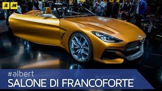 Nuova BMW Z4 Concept, a Francoforte la preview della nuova generazione ENGLISH SUB]