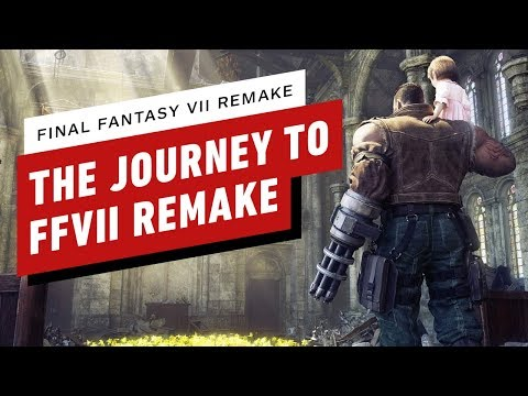 The Journey to Final Fantasy 7 Remake