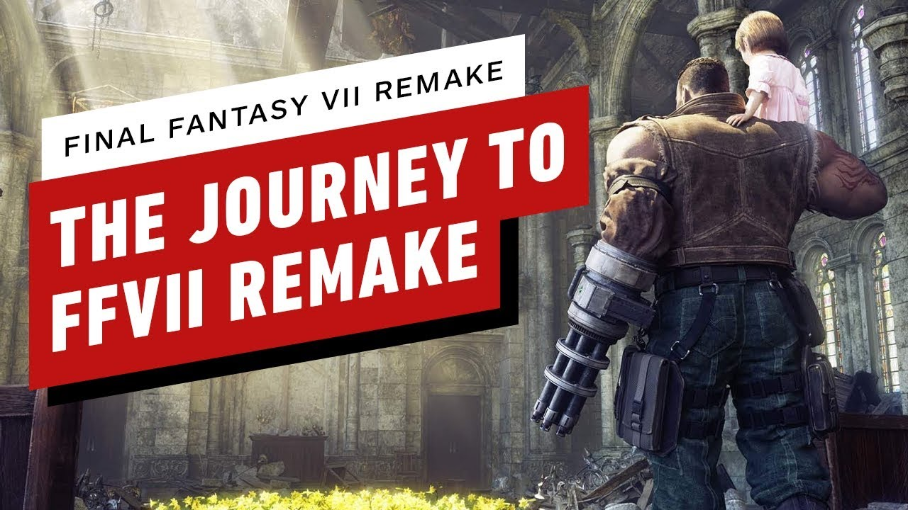 The Journey to Final Fantasy 7 Remake - IGN