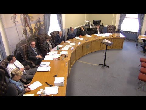 City of Plattsburgh, NY Meeting   3-22-18