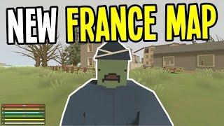 Unturned - NEW FRANCE MAP!! - Unturned France Map Playthrough - Episode 1