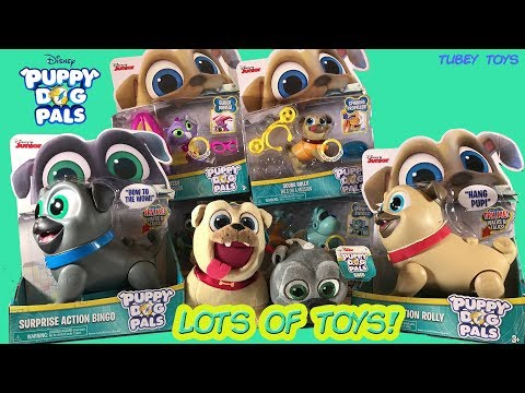 Rolly Puppy Dog Pals Plush Tvaction Info
