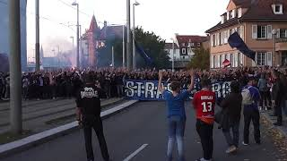 UB 90 Cortège Pt 2 Rc Strasbourg-O.Marseille 2017/2018 L1
