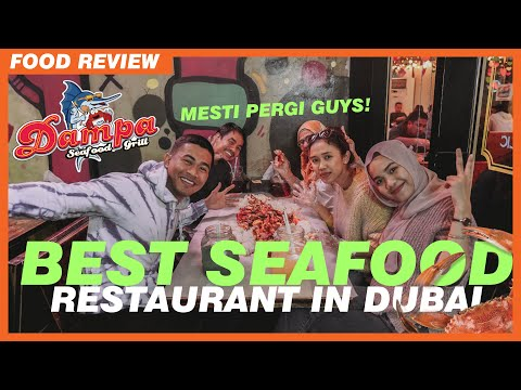 BEST! Seafood Restaurant in Dubai 2020 | MUST TRY!