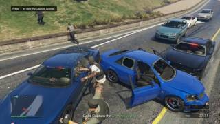 GTA 5 Police ManHunt Most Wanted 2 [HD]