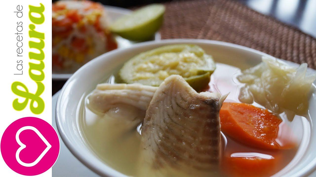 Sopa de pescado dieta