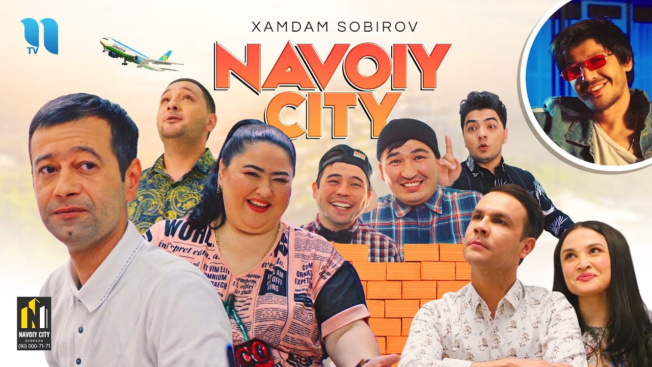 Xamdam Sobirov - Navoiy city (Official Music Video)