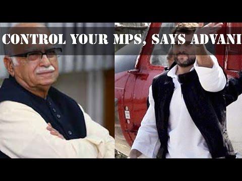 Kamal Nath & Rahul Gandhi met L. K. Advani over Lok Sabha jam