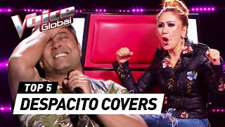 SURPRISING DESPACITO covers in The Voice