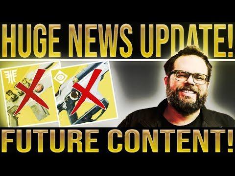 Destiny 2 News. HUGE UPDATE! Luke Smith Speaks, New Content, Exotic Nerfs, Scout Rifle Buffs thumbnail