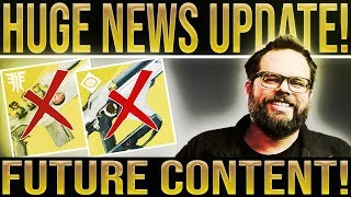 destiny 2 news huge update luke smith speaks new content exotic nerfs scout rifle buffs
