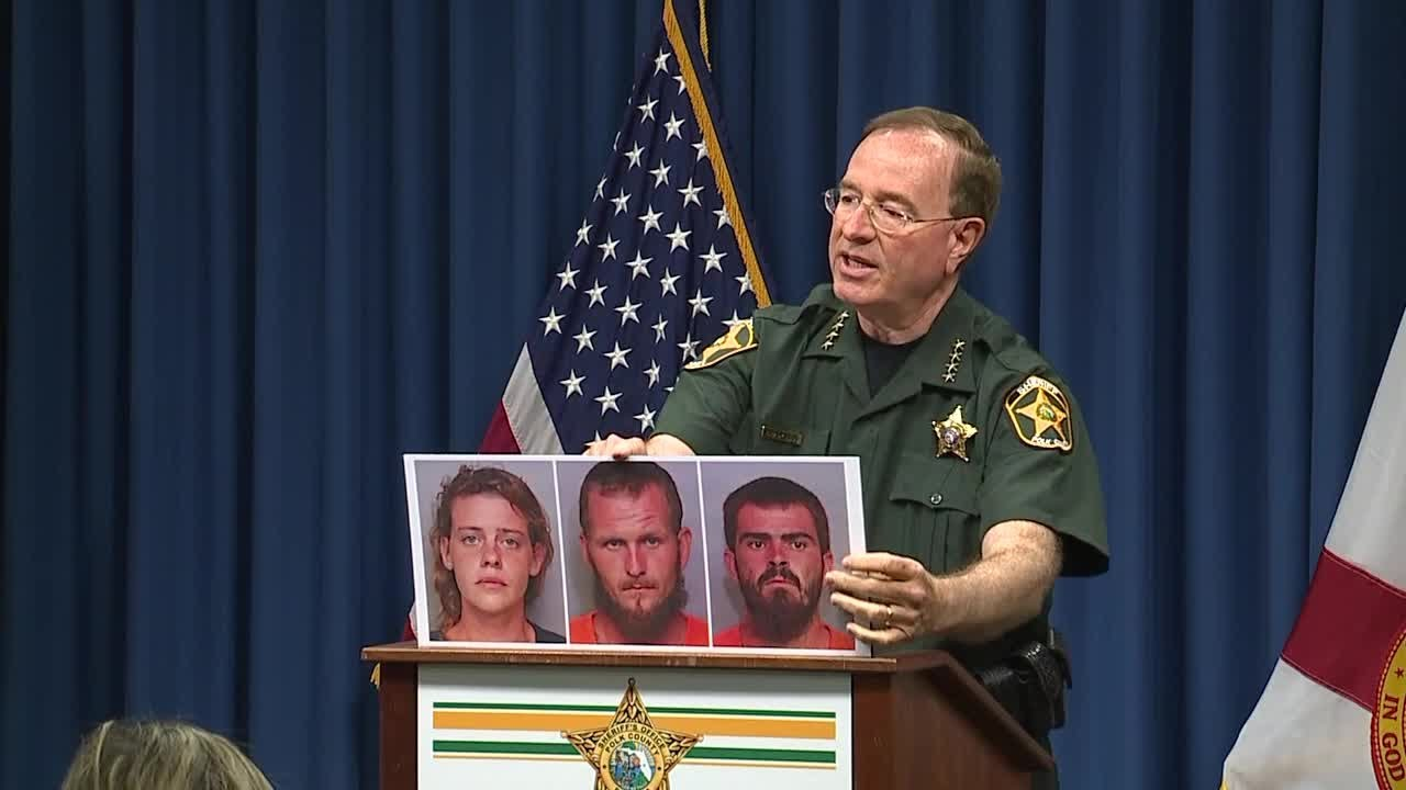 Sheriff Grady provides triple murder update | Press Conference