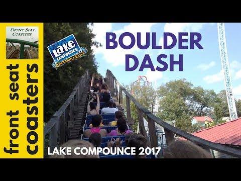 Boulder Dash POV HD Lake Compounce 2017 Roller Coaster Back Seat On-Ride Mountain Coaster