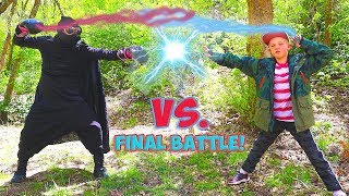 Epic Battle with the Stone Seeker! Superkids Episode 10! / The Beach House