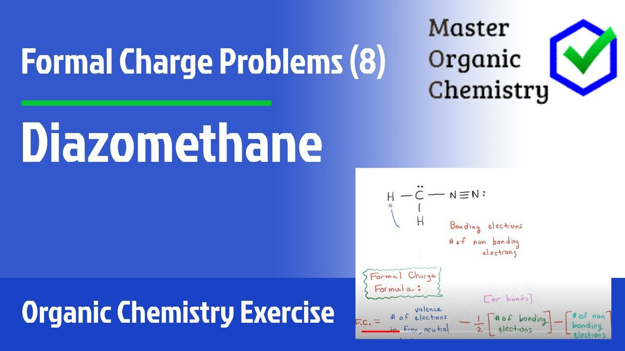 Formal Charge Problems (8) - Diazomethane - YouTubeXeo3 Lewis Structure