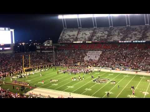 Gamecocks sing alma mater after win over Kentucky