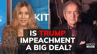 "Trump impeachment action a ""waste of time"" Says Gerald Celente"