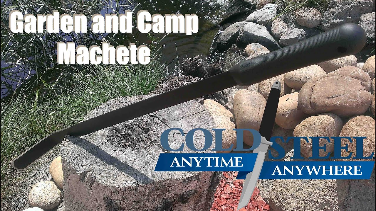 Cold Steel Garden And Camp Machete   Great Utility User!
