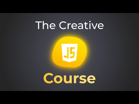 The Creative Javascript Course Trailer