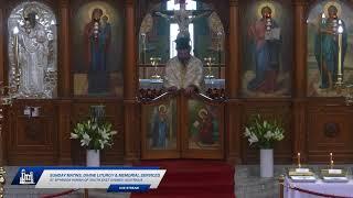 Sunday Matins Divine Liturgy \u0026 Memorial Services - 17th October 2021 - St Spyridon Church Sydney