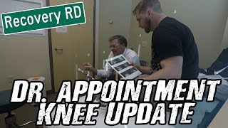 RECOVERY ROAD   FIRST DR. VISIT AND KNEE UPDATE!